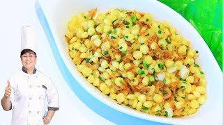 Cách làm BẮP XÀO đơn giản, cực ngon/ Corn Fried Dried Shrimp