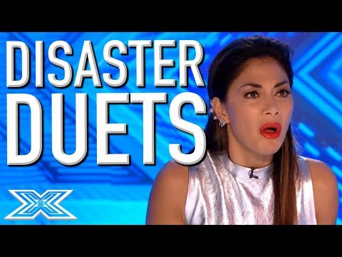 Disaster Duos Audition for The X Factor UK | X Factor Global