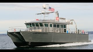 Army Corps Survey Vessel aluminum work boat - Florida II