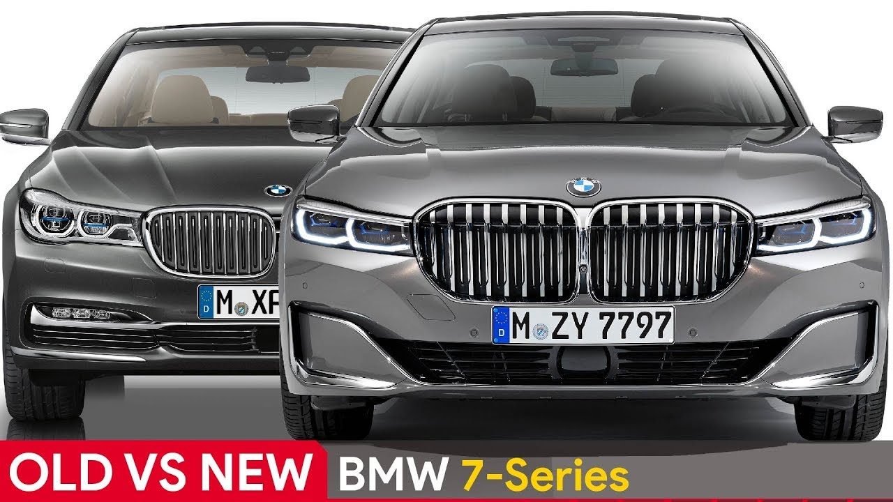 New Bmw 7 Series >> Old Vs New Bmw 7 Series See The Differences Youtube