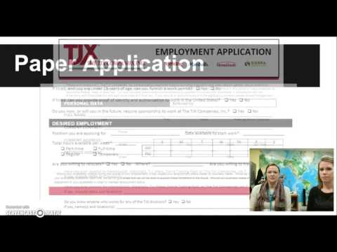 Online vs Paper Job Applications