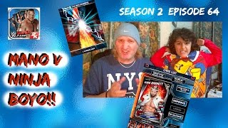 wwe supercard 2 64 chris jericho rtg and mano v ninja boyo