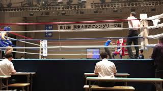 2018/6/23 リーグ戦 決勝LW 国際武道 谷vs.青学 横山○