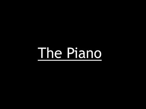 The Piano, Animation by Aidan Gibbons, Music by Yann Tiersen