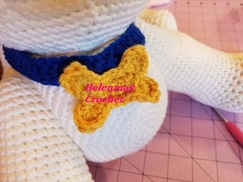 Jeremy the Jack Russell Crochet Pattern 💚 #crochet #amigurumi ... | 360x480