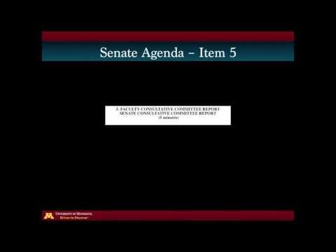 New Senator Orientation - November 3, 2016 University/Faculty Senate Agenda