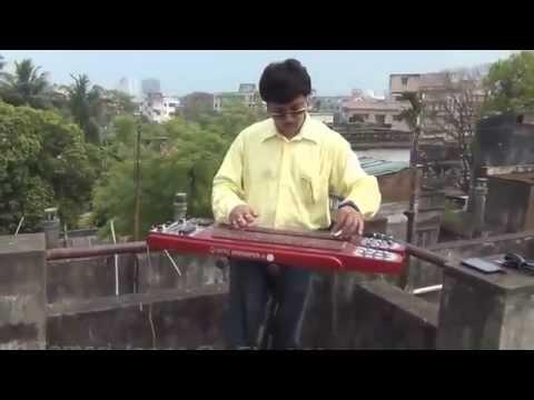 Hoyto Tomari Jonno Instrumental ElectricSteelHawaiianGuitar By Pramit Das Manna Dey Teen Bhu ...