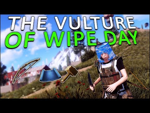 The VULTURE of WIPE DAY! - Rust Solo #1 thumbnail
