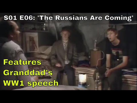 "Only Fools and Horses. Script #6 ie S01 E06 ""The Russians Are Coming"" (Season 1: Episode 6 of 6)"