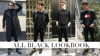 ALL BLACK LOOKBOOK (MEN)