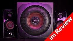 Trust GXT 38 | Tytan 2.1 Review | günstiges Soundsystem mit odentlich Bass!