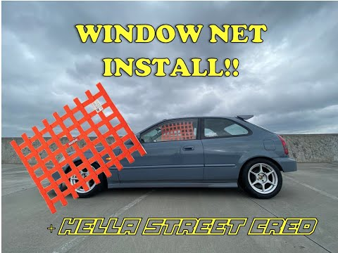 How To Install Window Net On EK Civic