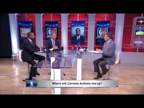 Where Will Carmelo Anthony Go | NBA Free Agent Fever