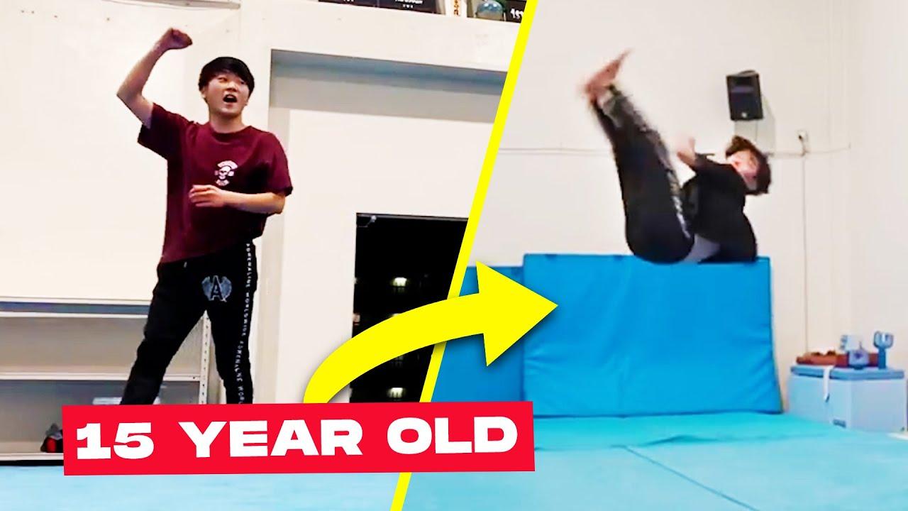 The Gravity Defying Flips of Shosei Iwamoto