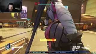 Widowmaker Ass Emote