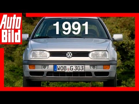 VW Golf 3 (1991) - Der Generations-Countdown / Test / Review / Fahrbericht