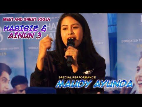 Penampilan Special MAUDY AYUNDA Nyanyi Lagu OST Film HABIBIE AINUN 3