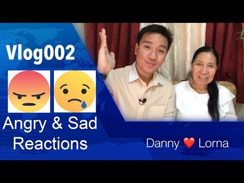 RATED K: Danny Loves Lorna 2nd Vlog - Angry & Sad Reactions