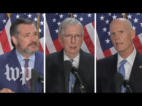 Republican senators dodge questions, defend clearing out peaceful protesters