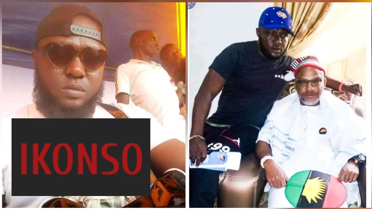 IKONSO : NNAMDI KANU MOURNS DEEPLY , HEAR HIM OUT - YouTube