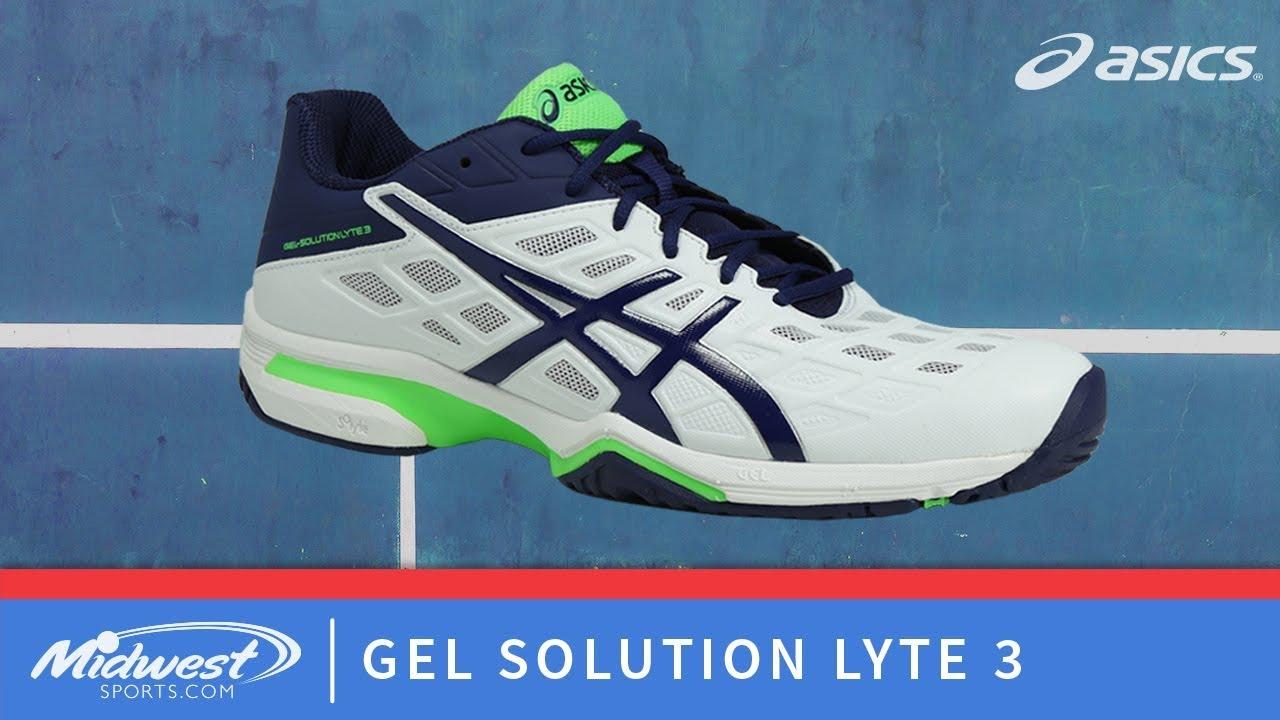 sale retailer b2d58 d9553 Asics Gel Solution Lyte 3 Tennis Shoe