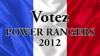 Nouveaux candidats élection présidentielle 2012 : les Powers Rangers