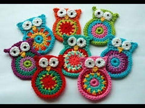 Crochet Tutorial Owl : Crochet Owl Pattern Instruction - YouTube