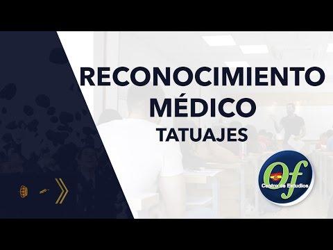 Reconocimiento Médico Policía Nacional: Tatuajes   Ofipol