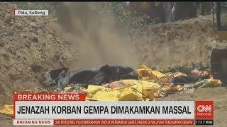 Ini Pemakaman Massal Jenazah Korban Gempa Palu