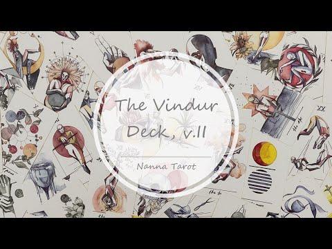開箱  風之塔羅牌 • The Vindur Deck, v.II // Nanna Tarot