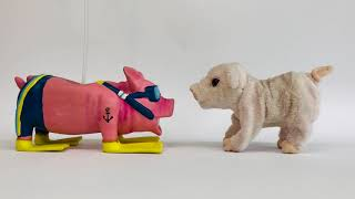 Da grunzt das Schwein - Kunstprojekt in der Erzieherausbildung  an der #BotnangerFachschule