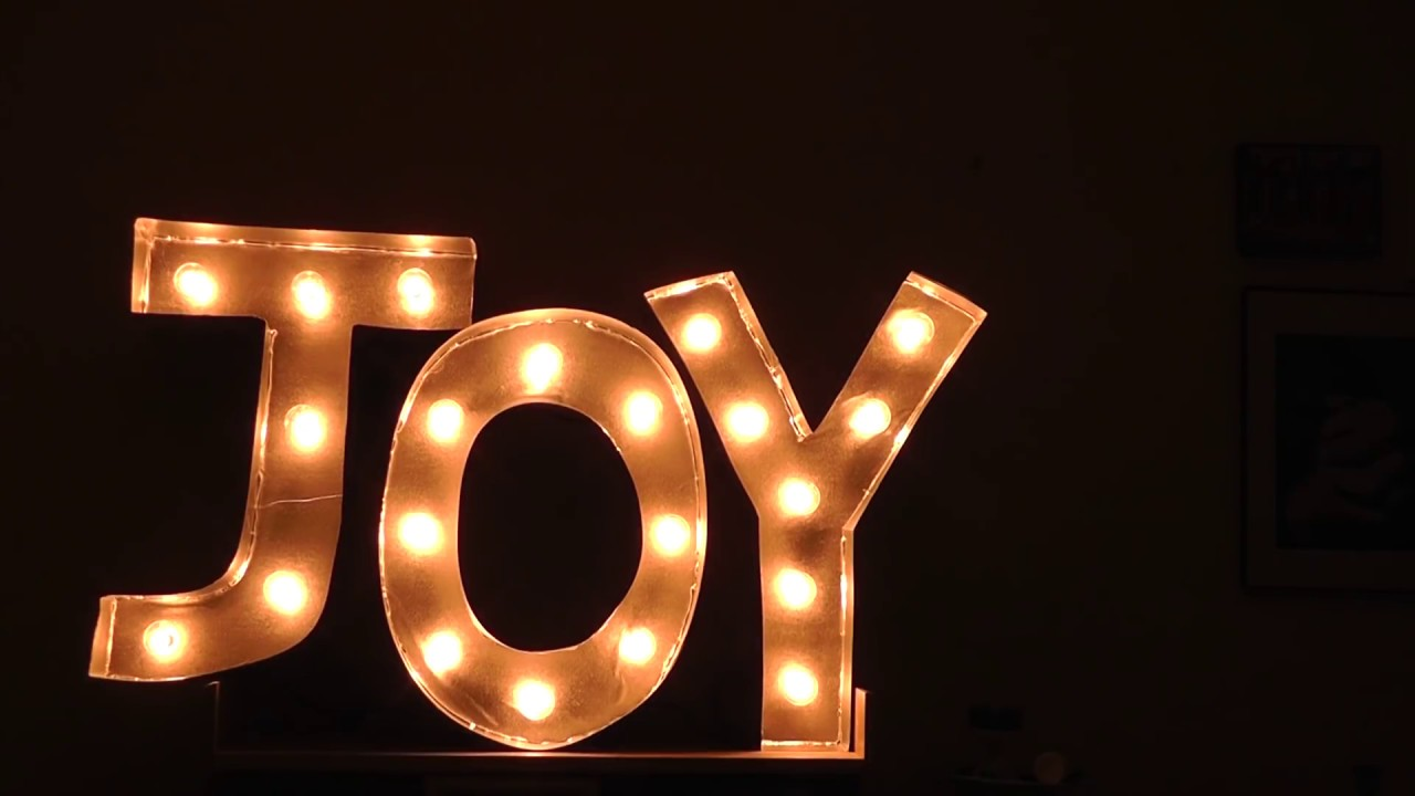 Fun Diy Home Decor Ideas Diy Marquee Letters Youtube