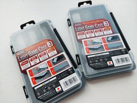 Распаковка коробки Meiho Light Game Case J от интернет-магазина Spinningline