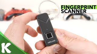 Fipilock 2s | Smart Fingerprint Lock | Review & Security Test