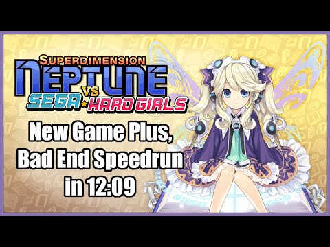 Superdimension Neptune Vs Sega Hard Girls - NG+, Bad End Speedrun in 12:09 [Personal Best] |