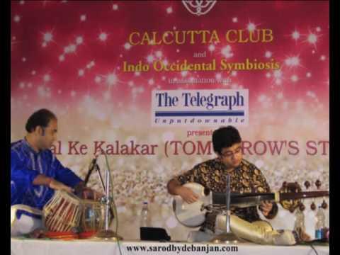 Chandranandan | Debanjan Bhattacharjee - Sarod | Live in Calcutta Club | Tabla: Abhishek Chatterjee