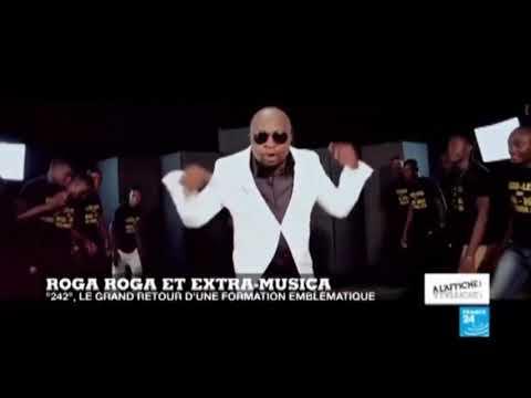 Roga Roga na France 24 Abimisi ba vérité ya  242 nouvel album by bossbouka