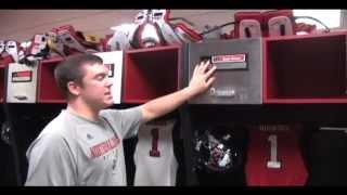 NIU Football Locker Room Tour