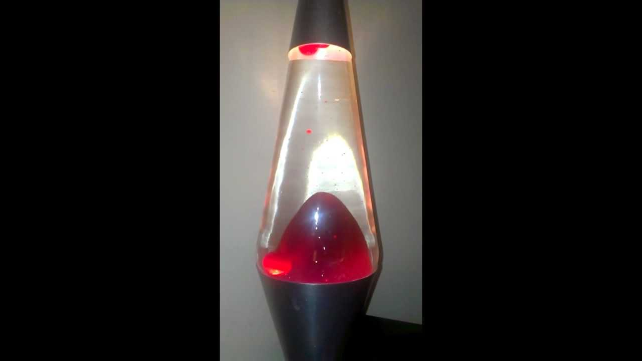 My cloudy lava lamp (fixed) - YouTube