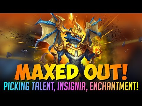 Zephyrica Maxed Out Augmenting Traits Enchantment BEAST Castle Clash