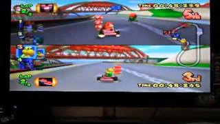 Mario Kart Double Dash - Mushroom Bridge (MKPerú)