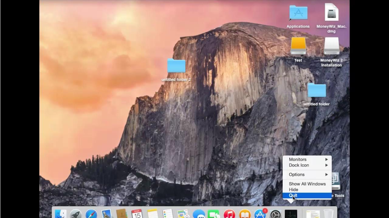Uninstall MoneyWiz for Mac 2 5 12