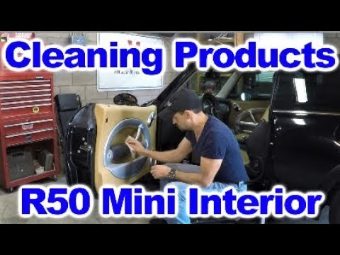 Cleaning And Protecting The Dashboard And Door Panels Of A Mini