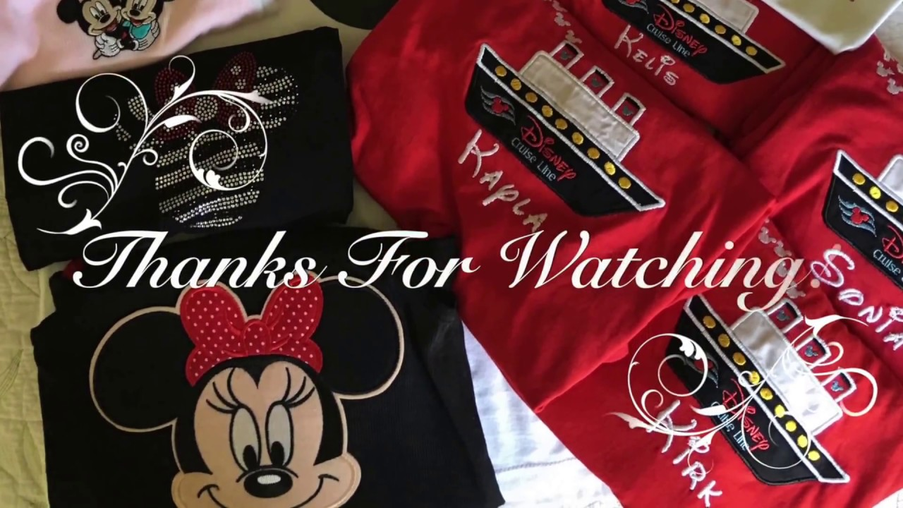 Michaels Trip and DIY Disney Shirts!