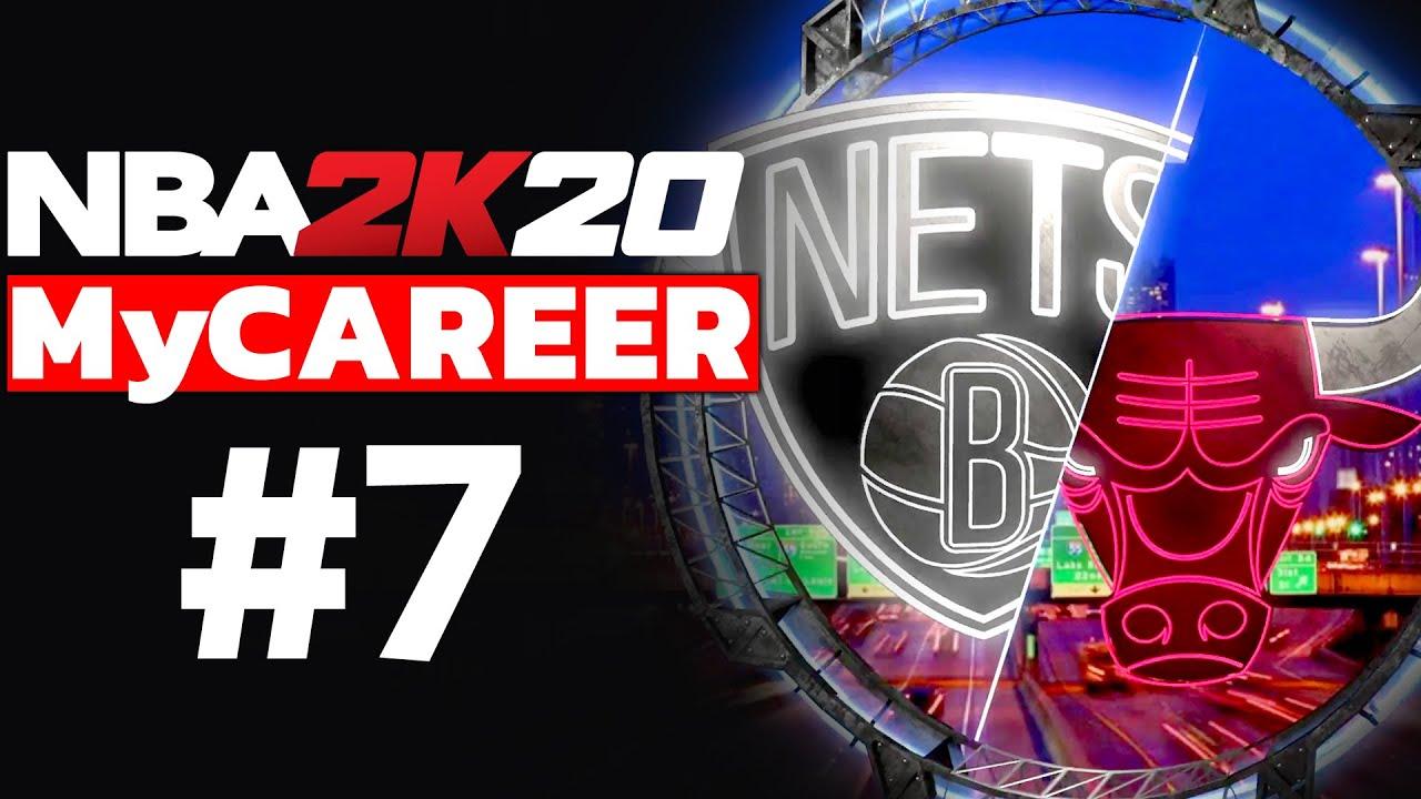 NBA 2K20 MyCAREER TÜRKÇE #7 // BULLS'A KARŞI EFSANE MAÇ!! ALLEY-OOP DAĞITIYORUM!!