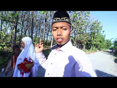 Sholat Idul Fitri(bersama istriku)