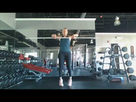Clean - High Pull -  Motion Practice with PVC pipe -  Mai Trainer