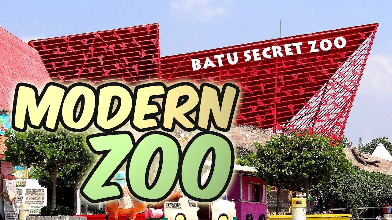 Kebun Binatang Modern Di Batu Secret Zoo Dan Museum Satwa Youtube