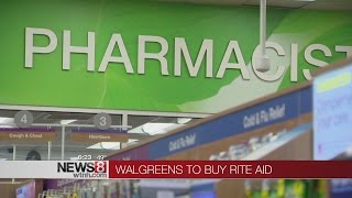 Walgreens buying Rite Aid, creating drugstore giant