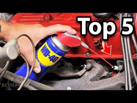 Top 5 Uses of WD40 in Your Car (Life Hacks)